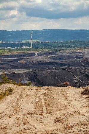 Coal Mine, Sokolov, Czech Republic.