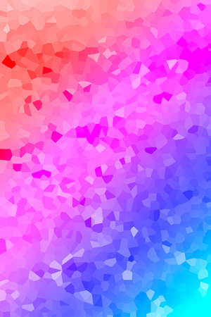 Multicolor abstract background. Stylish illustration modern trend colors.
