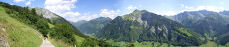glarus: View from Elm, Glarus, Switzerland