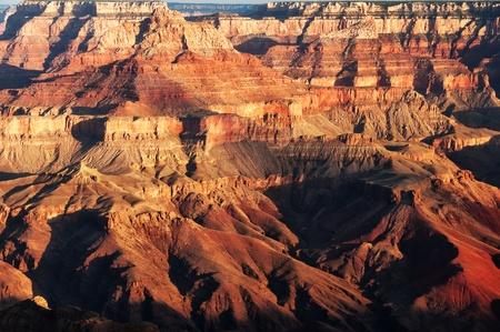grand canyon national park: Grand Canyon sunrise Stock Photo