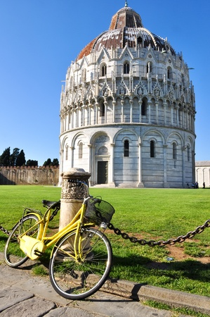 Baptistery of St. John in Pisa photo