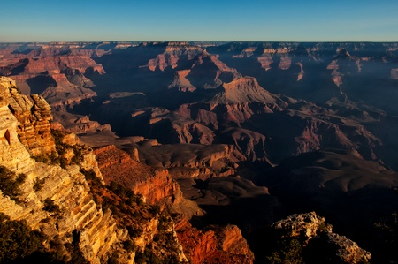 Grand canyon sunset photo
