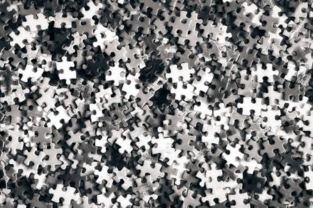 Puzzle detail monochrome Stock Photo - 12197205