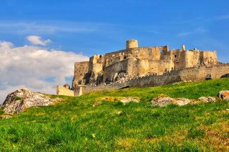 Castle Spissky hrad in Slovakia