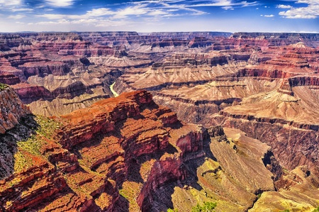 Grand Canyon sunny day landscape view photo