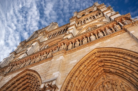 Notre Dame cathedral in Paris Stock Photo - 13474826