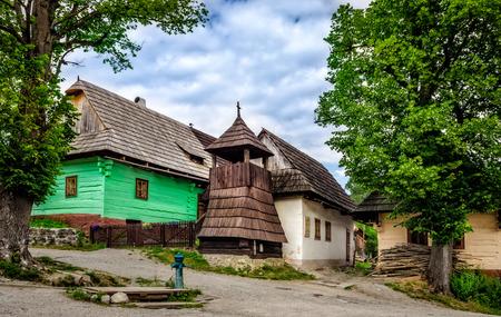 venerable: Vlkolinec traditional village in Slovakia, Eastern Europe