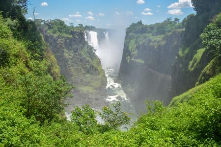 Victoria Falls, Zambezi River, Zimbabwe