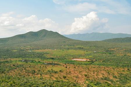 Mountain against a cloudy sky, Mount Oloroka, Kenya