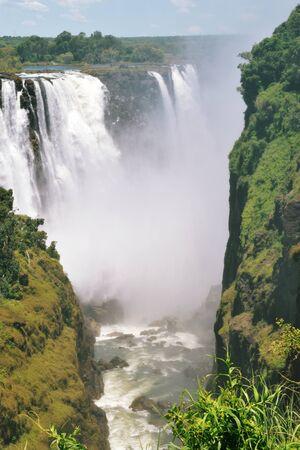 victoria Falls in zambezi River, Zambia