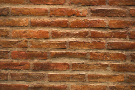 appoints: Background or texture of brick wall in earth tones