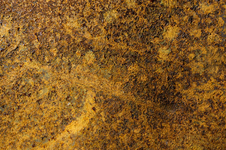 metall texture: very rusty metal plate occupying the entire picture Stock Photo