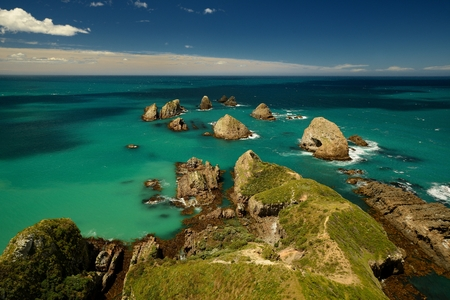 Landscape New Zealand - Nugget point on Southern Island