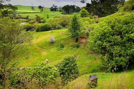 Landscape New Zealand, the place in Middle-earth