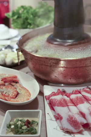 hot pot: Taiwanese style traditional hot pot