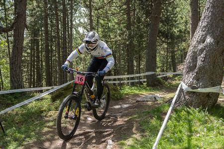 UCI WORLD CUP ANDORRA VALLNORD 2018 En La Massana, Andorra. Copa del Mundo UCI 2018.