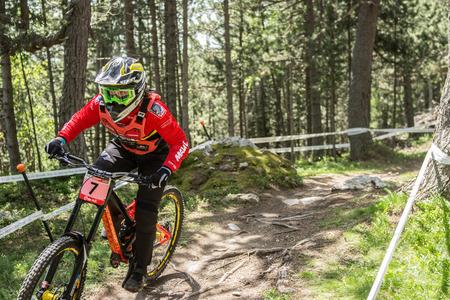 COPA DEL MUNDO UCI ANDORRA VALLNORD 2018 En La Massana, Andorra. Copa del Mundo UCI 2018.