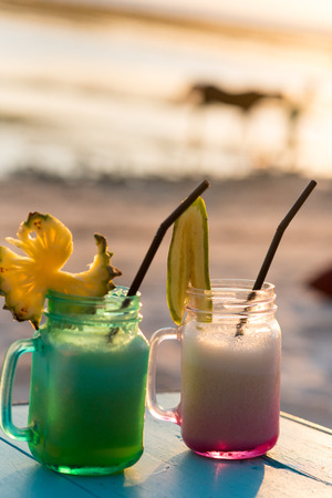 Cocktails in GIli T. Indonesia