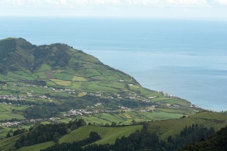 Beautiful Seascape in Sao Miguel, Azores, Portugal Stock Photo