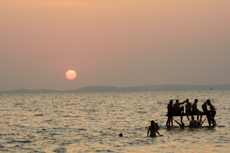 Otres Beach, Sihanoukville, Cambodia Stock Photo