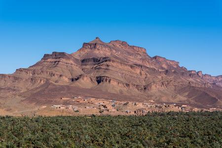 Landscape in Tizi'n-Tinififft, Tamnougalt, Morocco.