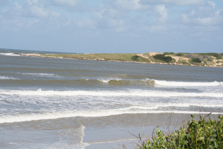 Playa Grande in Santa Teresa National Park, Rocha, Uruguay