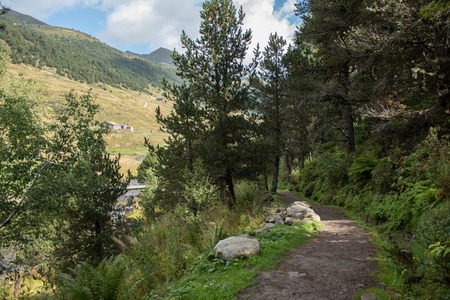 Summer in the Vall d Incles, Canillo, Andorra