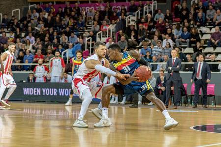 Andorra la Vella, Andorra. December 17, 2017. ACB League, Qualifying round. In the match between Morabanc Andorra BC vs Baskonia (martinscphoto.com) Editorial