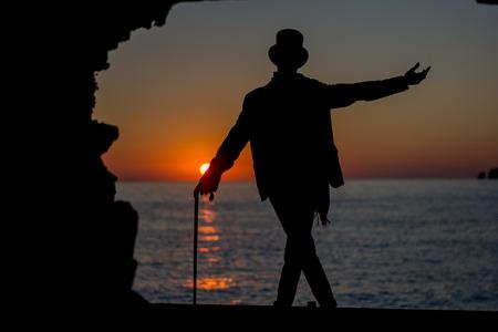 Beautiful Cala Comte Beach, Sant Antoni de Portmany, Ibiza, Balearic Islands, Spain. 免版税图像