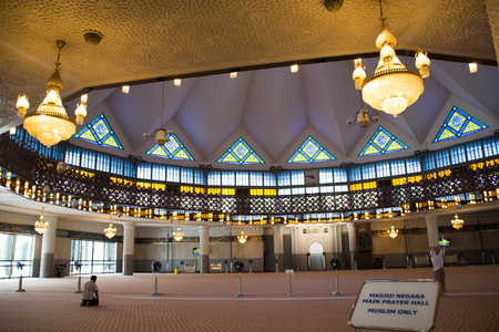 National Mosque of Malaysia. Editorial