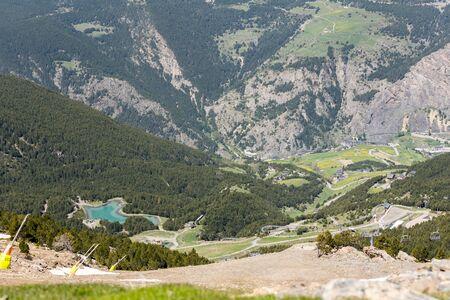 Summer ski station in Canillo, Andorra. Imagens