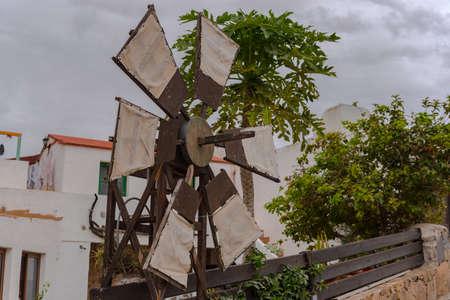 Betancuria, Fuerteventura, Spain: 2020 October 6: Willmild in Bentancuria on the island of Fuerteventura in Spain in summer.