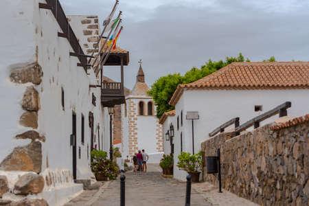 Betancuria, Fuerteventura, Spain: 2020 October 6: Cityscape in Bentancuria on the island of Fuerteventura in Spain in summer.