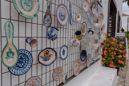 Betancuria, Fuerteventura, Spain: 2020 October 6: Souvenirs in Bentancuria on the island of Fuerteventura in Spain in summer. 新聞圖片