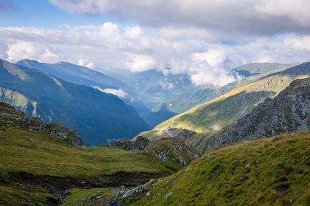 Beautiful rocky view in Fagara� mountains in Southern Carpathians, Romania