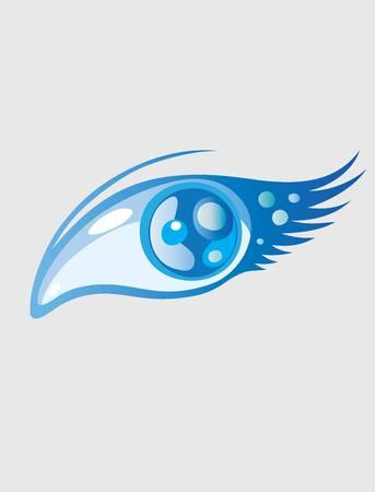 Beauty Eye art vector design