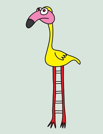 parody: Cute bird art vector design