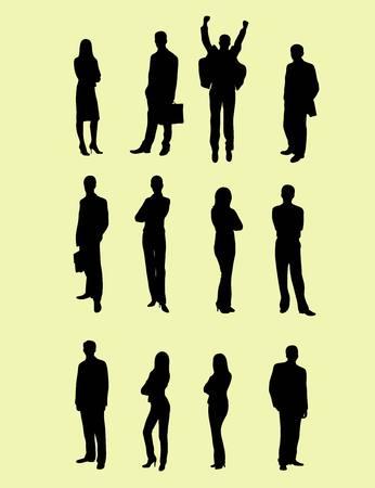 soho: Business silhouette