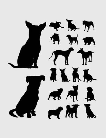 lapdog: Dog Silhouettes, art vector design