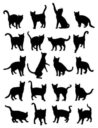 silhouettes: Cat Silhouettes