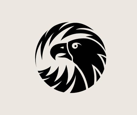Circle Eagle Logo, art vector design