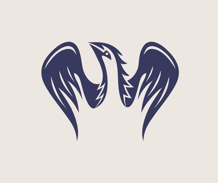 Eagle Wing Logo, art vector design