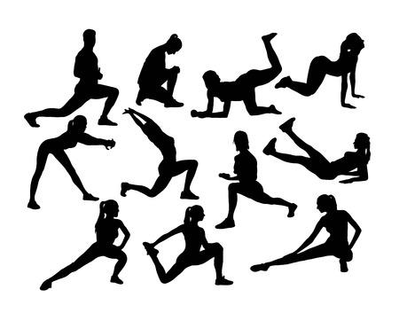 Sport Silhouettes, art vector design