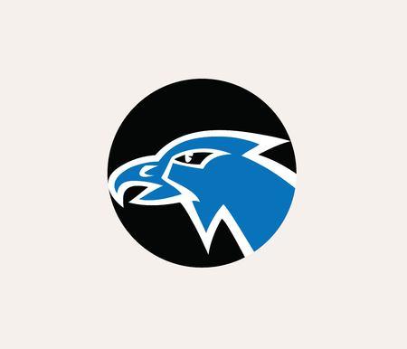Eagle Face Logo, art vector design