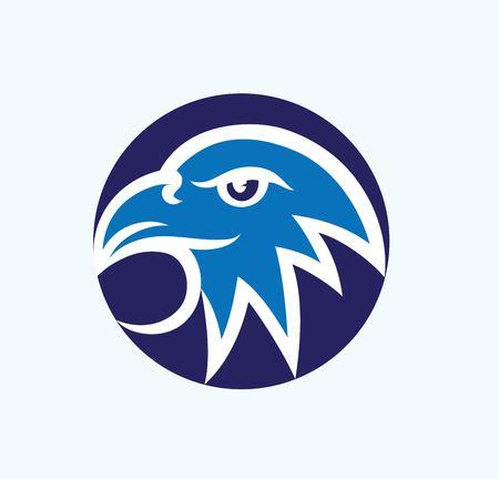 Eagle Logo, art vector design Banque d'images - 117470606