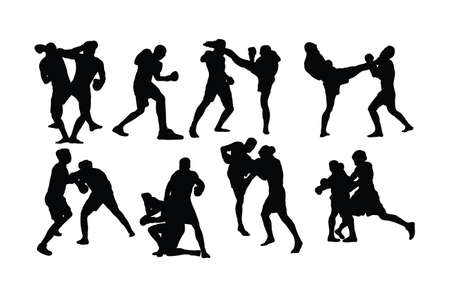 Free Boxing Sport activity, art vector design