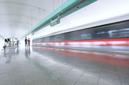 estacion de tren: Estaci�n de tren  Foto de archivo