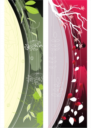 nature banners Stock Vector - 14257307