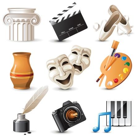 9 zeer gedetailleerde kunst iconen