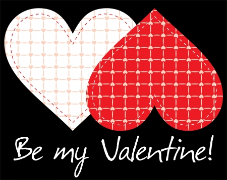 Valentine s day background Stock Vector - 14257290